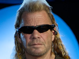 Duane Chapman, star of Dog the Bounty Hunter, is rushed to hospital with a leg injury.