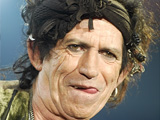 Keith Richards brushes aside reports that he has given up drinking.