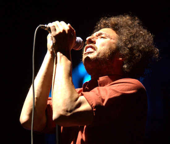 Rage Against The Machine at 3rd Annual Vegoose Music Festival, Las Vegas, on Oct 28