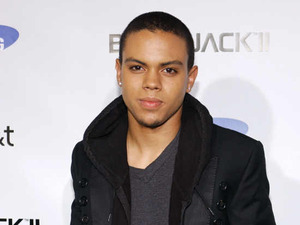 Evan Ross at Samsung 'Blackjack II' launch at Beso, Los Angeles, on Nov 14