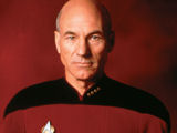 Patrick Stewart claims that he felt miscast as Captain Picard on Star Trek: The Next Generation.