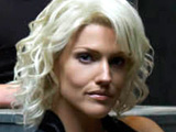 Actress Tricia Helfer reveals that it was an easy decision to join TNT cop drama Dark Blue.