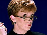 Anne Robinson reveals that some of the The Weakest Link celebrity contestants ask for the questions.