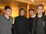 Arctic Monkeys drummer Matt Helders admits that the indie band worried about playing arena dates.