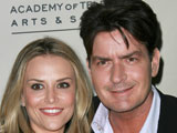 Charlie Sheen's estranged wife Brooke Mueller says that she is looking forward to the future.