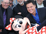 The Osmonds at Disney World to celebrate the 25th anniversary of the Children`s Miracle Network, Florida