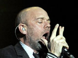 REM - Michael Stipe and Peter Buck - in concert, Royal Albert Hall, London