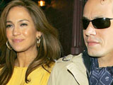 Jennifer Lopez and Marc Anthony leave The Waverly Inn, New York