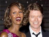 David and Iman Bowie attending the '7th Annual Tribeca Film Festival' Vanity Fair Party at the State Supreme Courthouse, New York, America