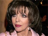 Joan Collins at the 'Gone With The Wind' Opening Night After Party, at the Mayfair Hotel, London, Britain