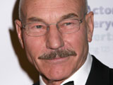 Patrick Stewart at 2008 Actors Fund Gala in New York