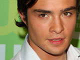 Ed Westwick at CW Network 2008 Upfront, Lincoln Center, New York