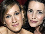 Sarah Jessica Parker and Kristin Davis at &#39;Sex and the City&#39; Film Premiere, Berlin
