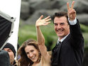 Two paparazzi reportedly crash into each other while trying to photograph Chris Noth.
