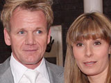 Gordon Ramsay and wife Tana on the red carpet of Britain's Best 2008 Awards