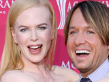 Nicole Kidman and Keith Urban at 43rd Annual Academy of Country Music Awards, Las Vegas