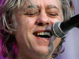 Bob Geldof opens the 'Haendels Open' Festival in Halle an Der Saale, Germany
