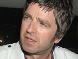 Noel Gallagher on his way to Percy and Reed opening party, London