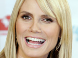Heidi Klum at Douglas and DKMS Life press conference