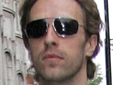 Coldplay's Chris Martin leaving Radio 1's studios, London