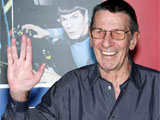 Leonard Nimoy at the Licensing International Expo at the Javits Centre in New York