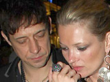 Kate Moss with daughter Lila Grace and boyfriend Jamie Hince in Istanbul