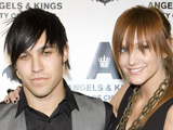 Pete and Ashlee at the opening of his new bar Angels & Kings in Chicago