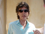 Mick Jagger leaving Orso Restaurant, Los Angeles, America