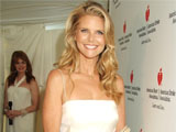 Christie Brinkley posing