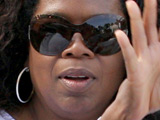 Oprah Winfrey on holiday in Portofino