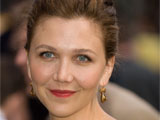 Maggie Gyllenhaal attending the 'Dark Knight' film premiere, New York