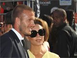 David and Victoria Beckham at the Espy Awards, Nokia Theatre, Los Angeles