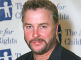 William Petersen at an awards dinner