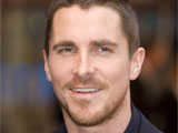 Christian Bale attending the new 'Batman' film premiere in Leicester Square