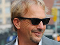 Kevin Costner shows his support for a charity which rescues unwanted dogs from being put down.