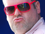 Chris Moyles at the Unleashed Festival in Newquay