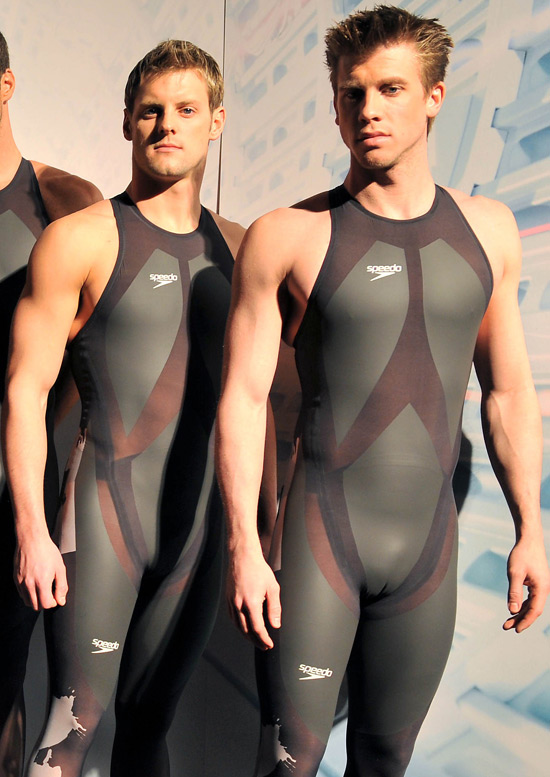... Tancock (left) and Thomas Rupprath (right) have the physiques for lycra.