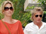 Rod Stewart and wife Penny Lancaster out and about in New York