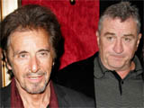 Al Pacino and Robert De Niro at the 'Righteous Kill' Film Premiere, New York, America