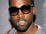 Kanye West at Prada's 'Fallen Angels' party in New York