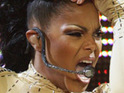 Janet Jackson performs her hits at the Essence Music Festival over the weekend.