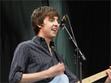 Miles Kane performing with The Rascals at Glastonbury