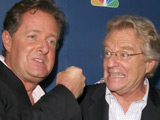 Piers Morgan and Jerry Springer at NBC's Fall Premiere Party