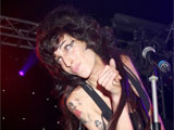 Amy Winehouse performing at 'The End of Summer Ball', Berkeley Square, London