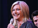 Olivia Newton-John and the cast of Grease Promote Breast Cancer Awareness, Brooks Atkinson Theatre, New York