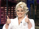 Anna Nicole Smith, on 'The Tonight Show with Jay Leno' TV series
