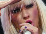 Christina Aguilera in concert in Kiev
