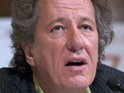 Geoffrey Rush expresses surprise that he has been nominated for a Golden Globe award.