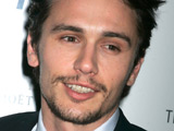James Franco at a special film screening of 'Milk' in New York
