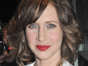 Vera Farmiga confirms that she is three months pregnant.